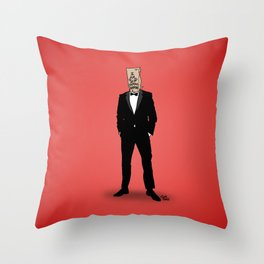 I Am Not Famous Anymore Throw Pillow