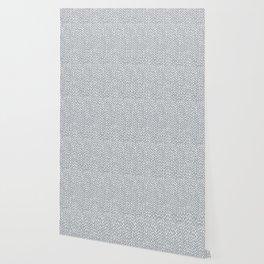Hand Knit Light Grey Wallpaper