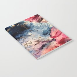 Rage - Alcohol Ink Painting Notebook