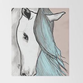 Unicorn Joy Throw Blanket