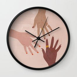 Love Is A Superpower Wall Clock