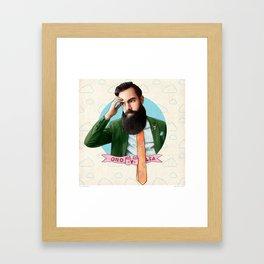 Mr. Montana Framed Art Print
