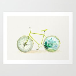 Have an Adventure Today Art Print