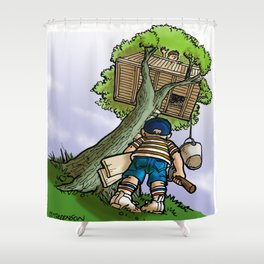 Treehouse Shower Curtain