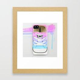 esrevno)-I  #9 Framed Art Print