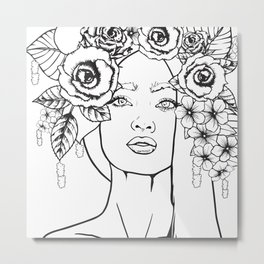 Rose to the Occasion Metal Print
