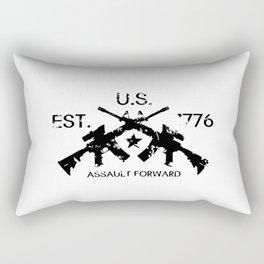 M4 Assault Rifles - U.S. Est. 1776 Rectangular Pillow