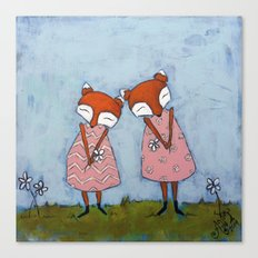 Best Sisters Canvas Print
