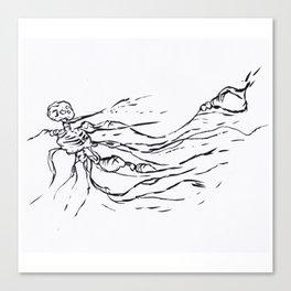 Ghost Creep Canvas Print