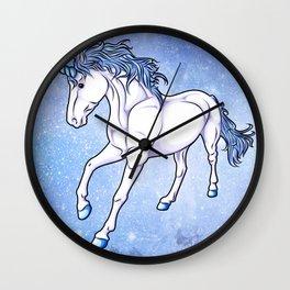 The Unicorn Colored Wall Clock