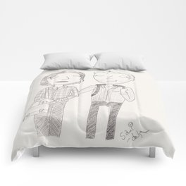 Stucky - the first day of school Comforters