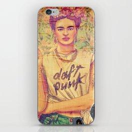 daft punk & frida iPhone Skin