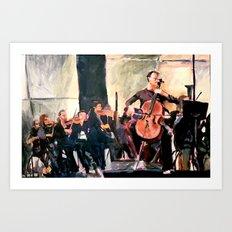 The Soloist Art Print