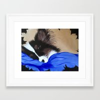 gizmo Framed Art Prints featuring Gizmo  by Gizzy MoMo