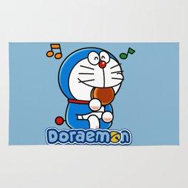 Doraemon eat Dorayaki 3 Rug
