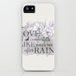 Garden Whispers 3 iPhone Case