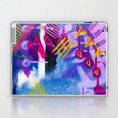 Wave purple Laptop & iPad Skin