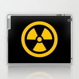 Yellow Radioactive Laptop & iPad Skin