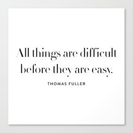 all things Canvas Print