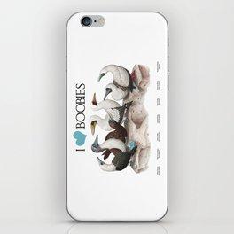 I Heart Boobies iPhone Skin