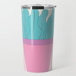 Potted house fern Travel Mug