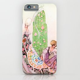 Kay Nielsen - Princess Lena And Michael, The Gardener iPhone Case