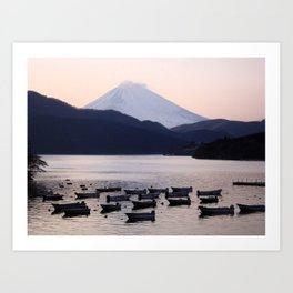 Lonely after Dark (Japan) Art Print