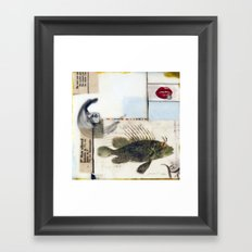 46 Fish Framed Art Print