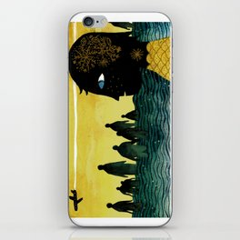 """Cape Town"" Illustration Tarmasz iPhone Skin"