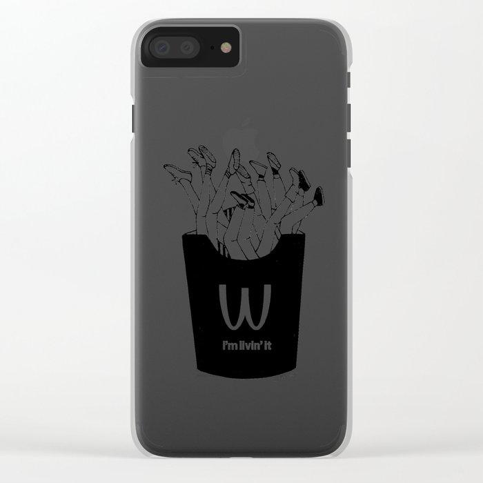 I'm Livin'it Clear iPhone Case