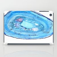 agate iPad Cases featuring Agate by sadiesavestheday