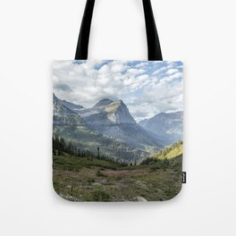 Catching a View from Going to the Sun Road Tote Bag