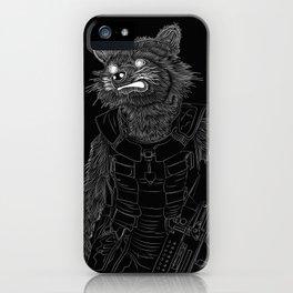 Rocket Raccoon, GuardiansOfTheGalaxy iPhone Case