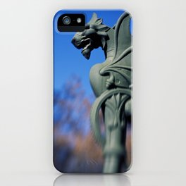 A Dragon Lamp Post. iPhone Case
