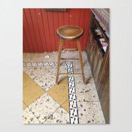 stool Canvas Print