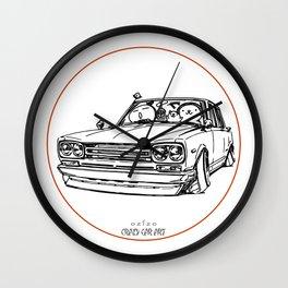Crazy Car Art 0121 Wall Clock