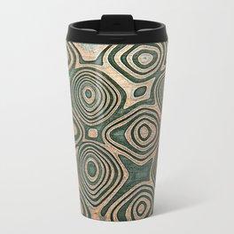 Metall texture, Damascus Travel Mug