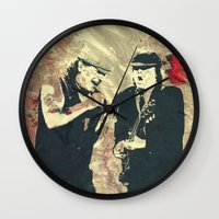 dc Wall Clocks featuring AC/DC by Nechifor Ionut