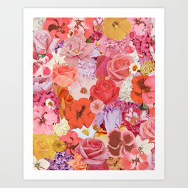 Super Bloom Art Print