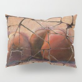 The Pears Fresco With a Crackle Finish #Society6 Pillow Sham