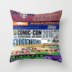 LBS MID YEAR SHOWS Throw Pillow