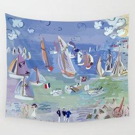 Regatta by Raoul Dufy Wall Tapestry