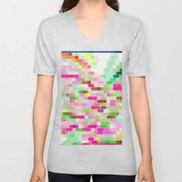 Re-Created Cypher 11.0 by Robert S. Lee Unisex V-Neck