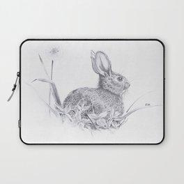 Bunny in the Field Laptop Sleeve