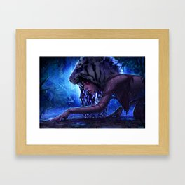 The Bloodlust Framed Art Print