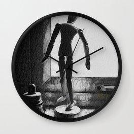 The Artists Supplies Wall Clock