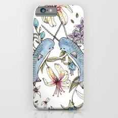 Narwhal pattern Slim Case iPhone 6s