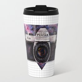 Pentax K1000 (Purple Nebula) Travel Mug