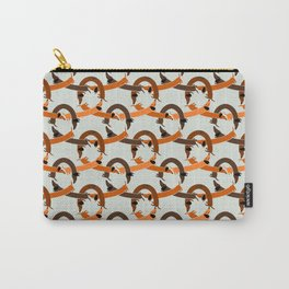 Seamless Dachshund pattern Carry-All Pouch