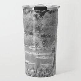 Claude Monet a Giverny Travel Mug